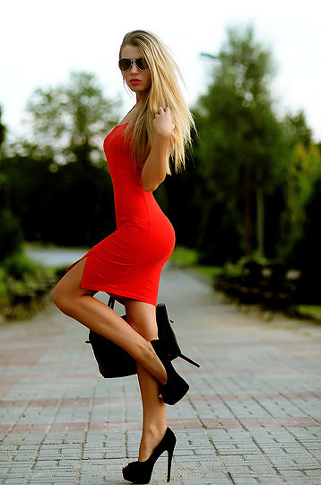 Red Dress! - Dress, Weeken, Heels-wedges, Weeken, Keidy Kelen, Ukraine