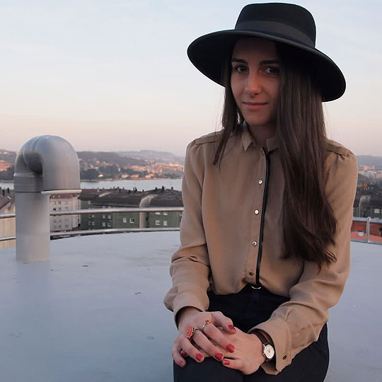 Hat - Hat, Weeken, Blouse, Zara, Luci­ Matheus, Spain