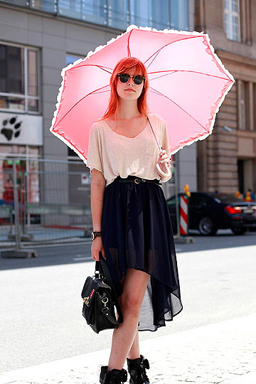 EnJOY - Umbrella, Weeken, Waterfall Skirt, Bershka, Stella Turtoise Resign, Fossil, Millie V R, Portugal
