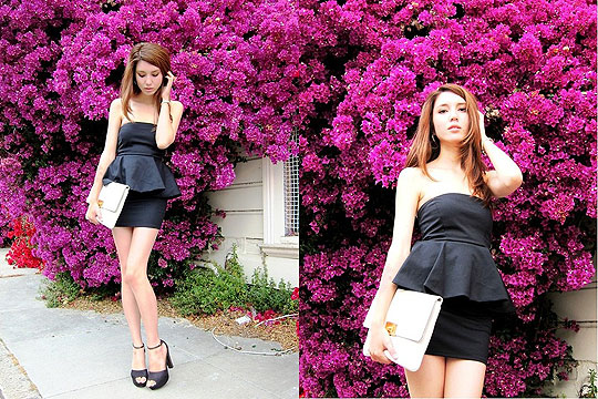 Fancy - Peplum dress, Zara, Heels, H&M, 1, Michael Kors, Samantha Mariko, Japan