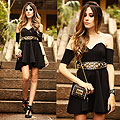Little black dress, Dress, Weeken, Bag, Weeken, Belt, Weeken, Van Der Linden, Brazil