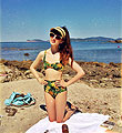 Sinking with the sun - Straw visa, Tayoi, Sunglasses, Bikini, Weeken, Autilia Antonucci, Australia