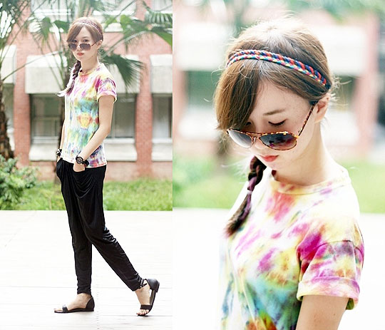 Colorful - Top, Weeken, Pants, Weeken, Sandals, Weeken, Crystii Lin, Taiwan