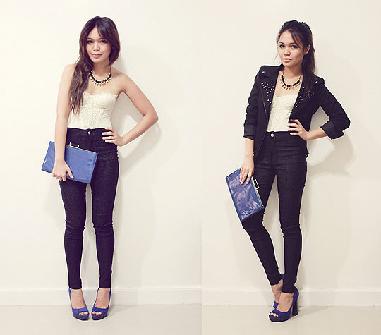 Sweet & Tough - Glittered pants, Weeken, Studded jacket, Weeken, BAGS, Weeken, Heels-wedges, Weeken, Cheyser Pedregosa, Philippines