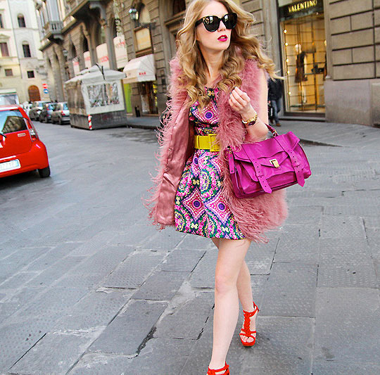 Color chock - Bag, Proenza Schouler, Shoes, Weeken, Skirt, Weeken, Sunglasses, Celine, Carolina Engman, Sweden