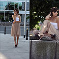 If you could be anywhere, H&M, H&M, Skirts, Weeken, Heels-wedges, Weeken, Caroline G, United States