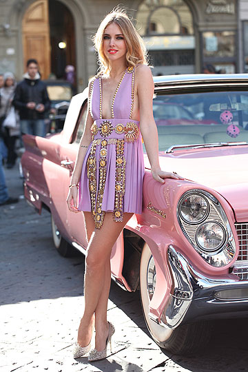 Fausto Puglisi spike dress - Fausto Puglisi dress, Weeken, Diego Dolcini shoes, Weeken, Chiara Ferragni, Italy