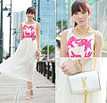 Ladylike In Chiffon, Dresses, BAGS, Weeken, Heels-wedges, Weeken, Camille Co, Philippines