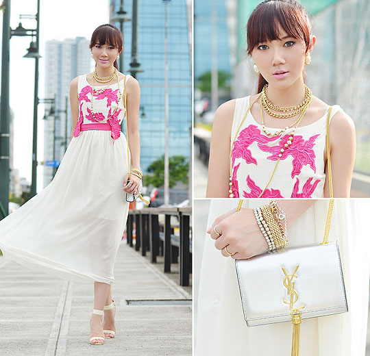 Ladylike In Chiffon - Dresses, BAGS, Weeken, Heels-wedges, Weeken, Camille Co, Philippines