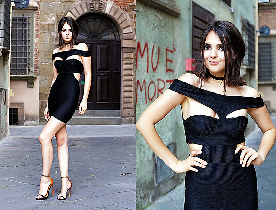 DARING CUTS - Asos Dress, ASOS, Heels-wedges, Weeken, Doina Ciobanu, Canada
