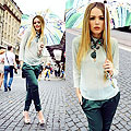 MARY KATRANTZOU x HARBOUR CITY, Umbrella, Weeken, Top, Weeken, Pants, Weeken, Heels-wedges, Weeken, , Kristina Bazan, Switzerland
