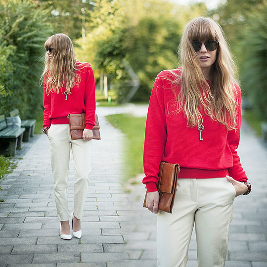 Contasts - Sweaters, Weeken, Pants, Weeken, Heels-wedges, Weeken, Lisa Dengler, Switzerland