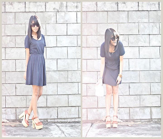 Thursday Blues - Blue Dress, Weeken, Chloe sevigny Inspired, Chloe, Lai Serrano, Philippines