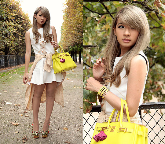Dolly rose - A-line dress, Weeken, Birkin bag, Hermes, Dandy pavane bracelet, Hermes, Dolly rose, Weeken, Anastasia Siantar, Indonesia