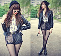 Speed of sound, Leather jacket, Weeken, Boots, Weeken, Tess Lively, Malaysia