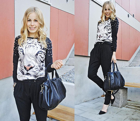 SNOW LEOPARD - Shirt, Weeken, Bag, Weeken, Heels, Weeken, Frida Johnson, Sweden