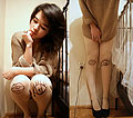 I still want to drown whenever you leave - Tights, Diy, Teeth shaped ring, Weeken, Heels-wedges, Weeken, Grace J, Poland