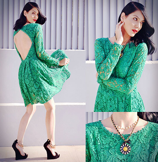 Have no fear of perfection, you'll never reach it.. - Dress, Weeken, Necklace, Weeken, Wedges, Weeken, Konstantina Tzagaraki, Australia