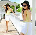 Babe in Yellow, Dresses, Weeken, Heels-wedges, Weeken, Kryz Uy, Philippines