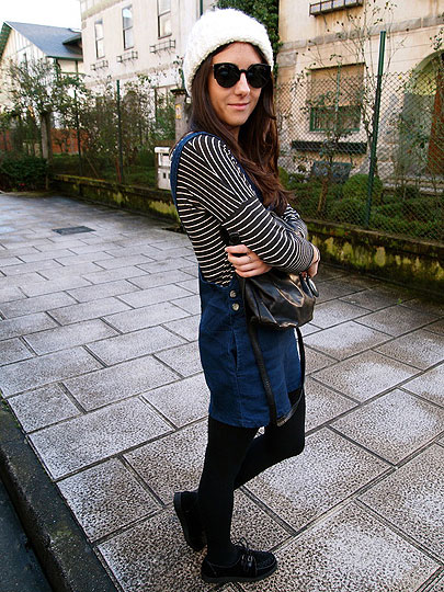 Stripes - Dress, Topshop, Flats, Weeken, Luci­ Matheus, Spain