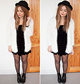 Throwback thursday - River island white cardigan, Weeken, Dresses, Weeken, Boots, Weeken, Lily Melrose, France