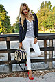 Sail with me ♥ - Blazer, Weeken, Jeans, Zara, Bag, Weeken, Manuella Lupascu, Romania