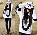 If I were a boy - BOY LONDON SWEATER, Weeken, BOY LONDON CAP, Weeken, ROUND SUNGLASSES, Weeken, Rebekah Wing, Germany