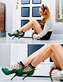 Green dream - Heels, ASOS, Shorts, Weeken, Shirts, Weeken, Tini Tani, Russian Federation