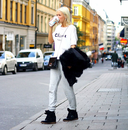 A Good Morning-Outfit - Top, Weeken, Pants, Weeken, Sneakers, Weeken, Bags, Weeken, Victoria Törnegren, Ukraine