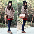 Friday look - Chunky knit, Weeken, Shoes, ALDO, Legwear, Weeken, Bags, Weeken, Yuki Lo, Hong Kong
