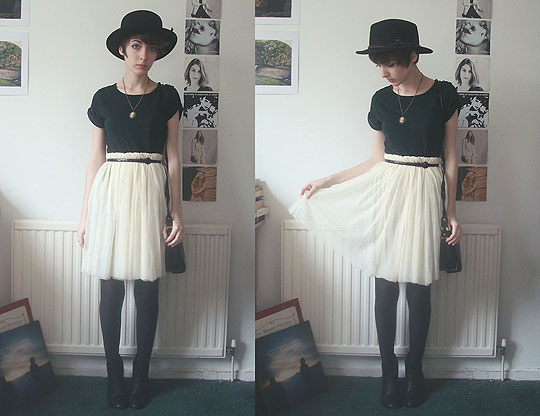 Kinder Blumen - Dress (as top), Topshop, Hat, Weeken, Skirt, Weeken, Ashleigh F, United Kingdom