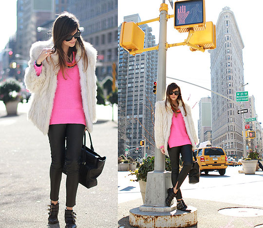 FLATIRON DISTRICT - COAT, Weeken, NECKLACE, Weeken, Pants, Weeken, Bags, Weeken, Flats, Weeken, Andy T, Mexico