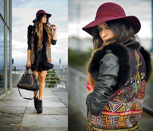 BE WILD - VEST, Weeken, Hat, H&M, BAG, Chloe, Boots, Weeken, Angela Rozas Saiz, Spain