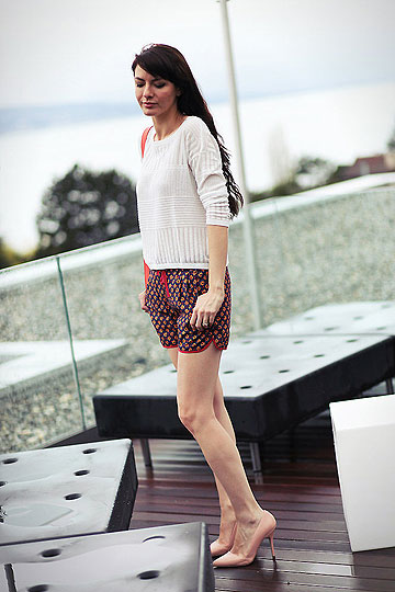 Boxing shorts - Sweaters, Weeken, Shorts, Weeken, Heels-wedges, Weeken, Estelleblogmode, France
