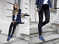 READY TO GO - Sneakers, New Balance, Jacket, H&M, Pants, Weeken, Jess A, Poland