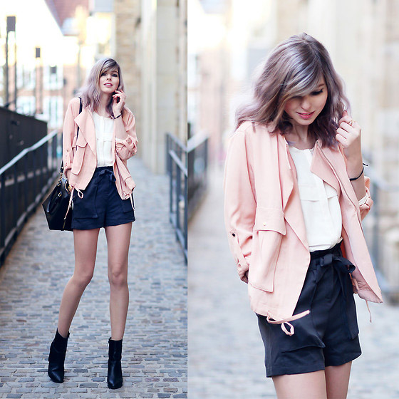Hey spring - JACKET, Weeken, Bags, H&M, Shorts, Forever21, Jana Wind, Germany