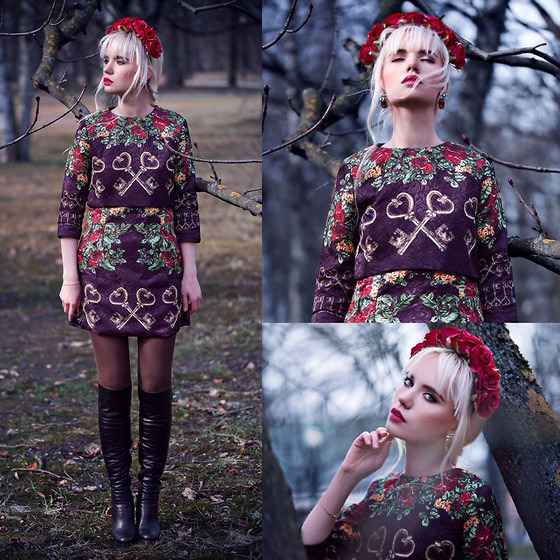 KEEPER OF MYSTIC FOREST - DRESS, Weeken, Oksana Orehhova, Estonia