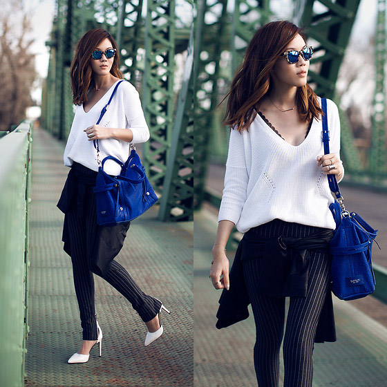 Jibboom - Sweater, Zara, Heels, Weeken, Bag, WEEKEND, Jenny Tsang, United States