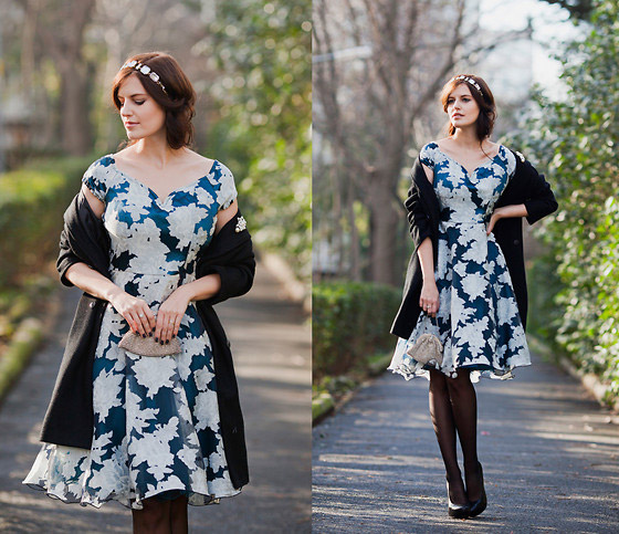 CLASSIC MOMENTS - DRESS, Weeken, COAT, H&M, CLUTCH, Zara, HEELS, ASOS, Viktoriya Sener, Turkey