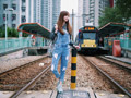 WORKER STYLE - RAGGED DENIM OVERALL, ASOS, PAINTED DENIM BACKPACK, Weeken, NIKE AIRMAX SNEAKERS, Nike, LINKS LONDON, Weeken, Una Yeung, Hong Kong