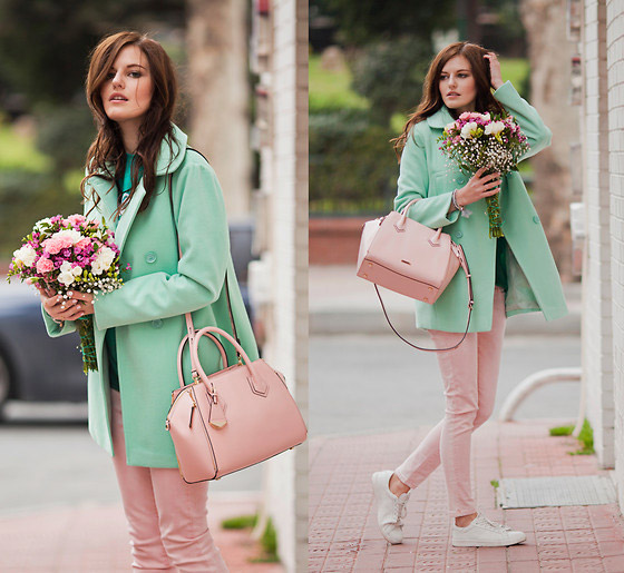 PASTELS - Coat, AS, Bag, Weeken, Jeans, Mango, Viktoriya Sener, Turkey
