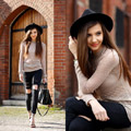 Basics not that basic - Hat, Weeken, Ripped jeans, Zara, Sandals, ASOS, Larisa Costea, Romania