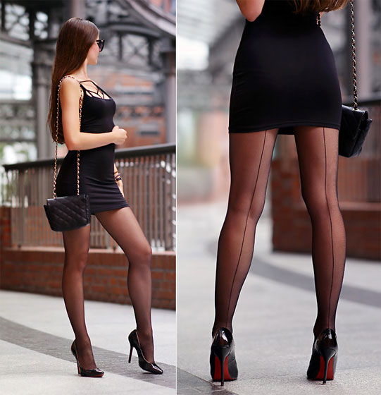 Sensual - Black mini dress, Weeken, Ariadna Majewska, Poland