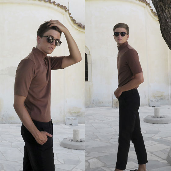 December 15, 2016 - Turtleneck t shirt, Weeken, Pants, Zara, Sunglasses, Weeken, Georg Mallner, Germany