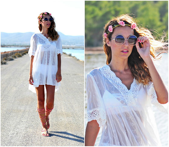 Dreams boho chic - Boho dress, Weeken, Gladiators, Weeken, Sunglass, Weeken, Corazon De Maniqui, Spain