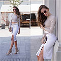 Bodycon skirt - Sunglasses, Weeken, BODYSUIT, Weeken, Skirt, Weeken, Shoes, Weeken, Pivonia, Poland