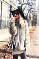 Holiday Look - Bag, Weeken, Sunglasses, Weeken, Black hat, Weeken, Coat, Weeken, BODYSUIT, Weeken, Caroline Louis, France
