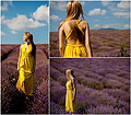 Fields of summer! - Yellow summer dress, Weeken, Sofija Surdilovic, Serbia