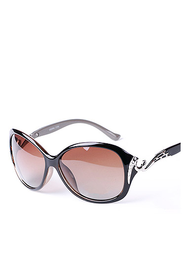 New Ms. polarized sunglasses large frame sunglasses sunglasses