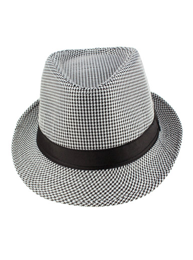 Small Houndstooth hat
